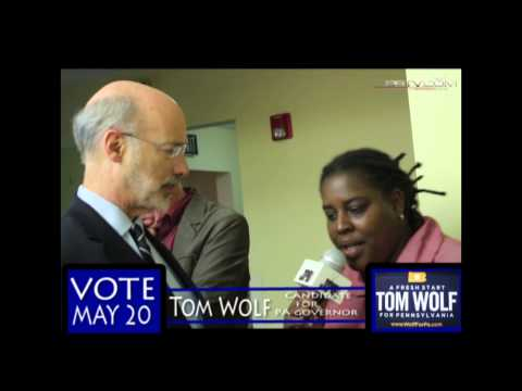 DABUTTONPUSHA INTERVIEWS CANDIDATE FOR PA GOVERNOR - TOM WOLF