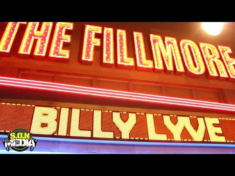 S.O.N. MEDIA Presents: Billy Lyve & iLL LuCK Live @ The Fillmore