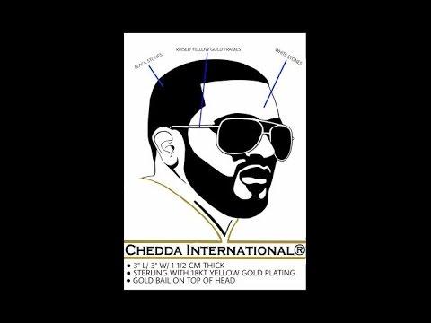 Affordable Custom Hip  Hop Jewelry- 18K Gold Custom Head Pendant 2,750 Diamonds