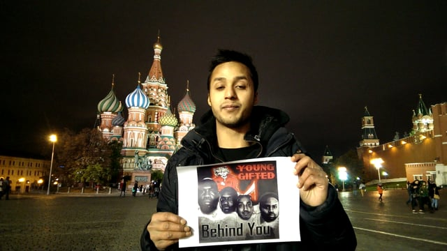From Russia With Love!!! Huge Fan Supports America's # 1 Group Young Gifted