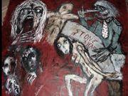 Stone Years Acryl auf Tuch,160 x 150 cm