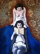 2 Ladies Reading