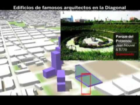 2009 INFO-VIDEO grandes arquitectos en  la Diagonal