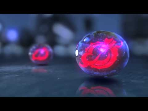 Glass orb small
