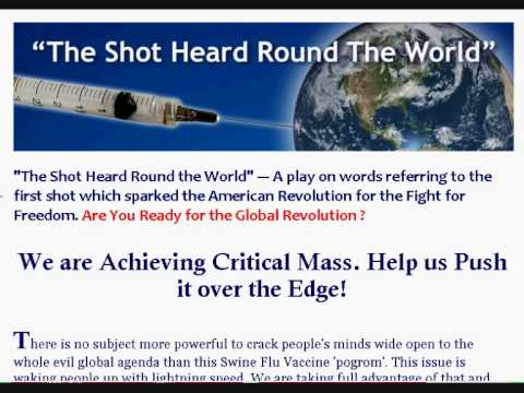 Swine Flu: The Jig is Up ! Come, Send your message to Our World Leaders on 9/11/09