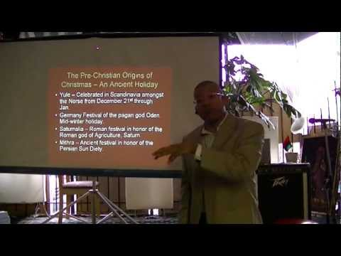 The History of Christmas - Michael Imhotep host of The African History Network - Clip 1