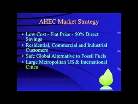 AHEC's Investor Pitch