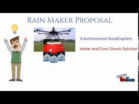 Rain Maker Solution To Wildfires: Wildfire Solution Offer To The Obama Administration and California Governor