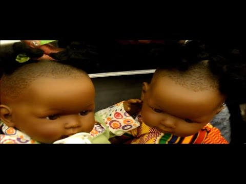 """JUST LIKE ME TOYS""  (Black and Ethnic dolls)  WITH SIMONE"