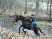 Me and George last ride up a hill
