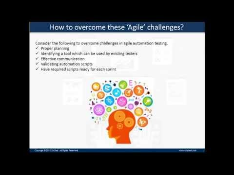 Thought Leadership Webinar - Agile Automation Testing Means Agile Challenges