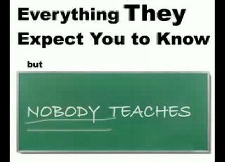 The Everything They Expect You To Know But Nobody Teaches Event