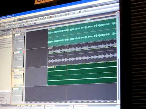 Final Mixdown of Radio Commercial