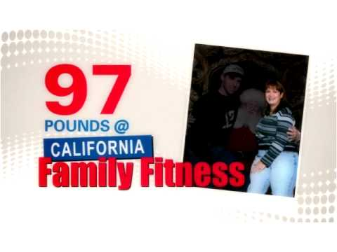 Khrystyne is a Mother of Two Who Lost 97lbs at California Family Fitness!
