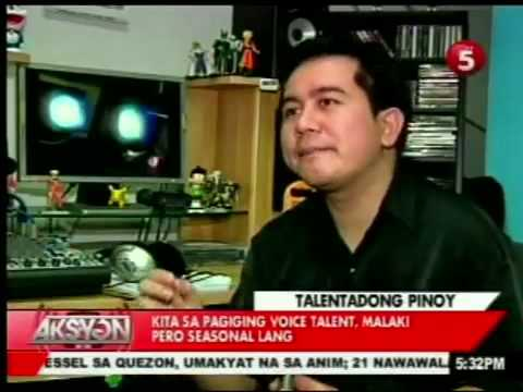 The Filipino VoiceMaster featured on TV 5 NEWS