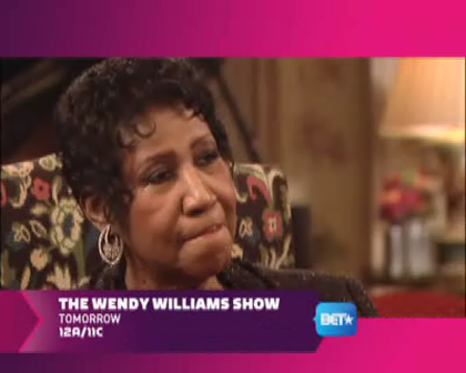 Wendy Williams Show - Exclusive! Aretha Franklin