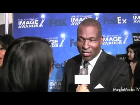 Rodney Saulsberry Interviewed at 42nd NAACP IMAGE AWARDS LUNCHEON