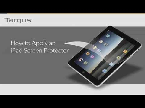 How to apply my iPad screen protector