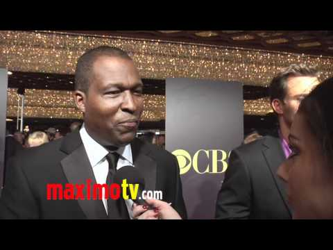 Rodney Saulsberry Interview at 38th Annual Daytime EMMY Awards Arrivals