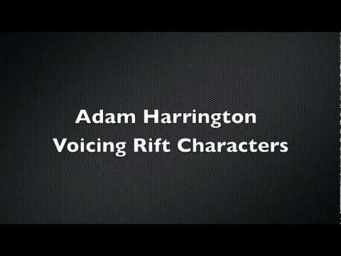 Adam Harrington's Voice Acting In MMO Rift