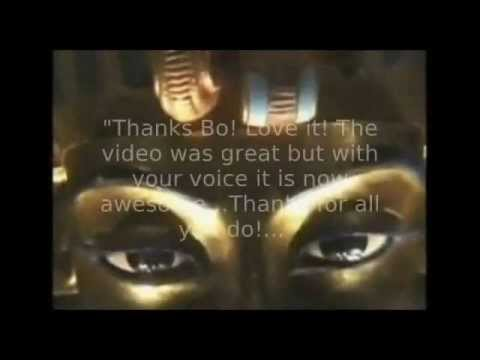"""Bo Barker Voiceovers - """"Legacy"""" Video Project Excerpts Montage"""