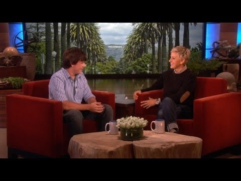 14 yr old Jake Foushee and His Amazing Voice on Ellen!
