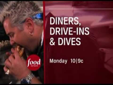 Professional Voice Talent - Scott Perry Voice Overs - 'Diners Drive Ins And Dives'