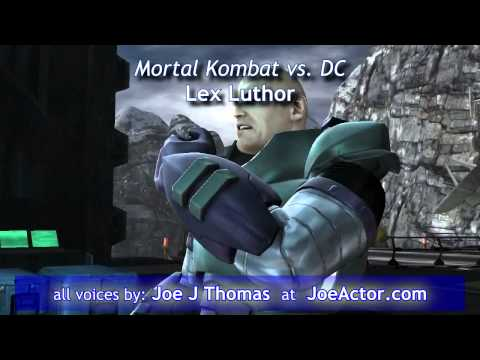 Joe J Thomas: JoeActor - Animation / Video Game VO Reel