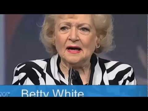 Betty White NAB 2012 Las Vegas - Kurt Kelly  - Actors Reporter and Live Video Inc  Coverage