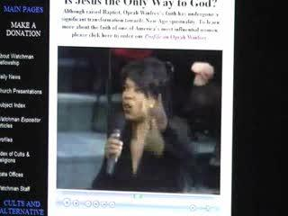Oprah Denies Christ!