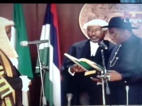 Swearing -in-Ceremony of President Ebele Goodluck Jonathan.wmv