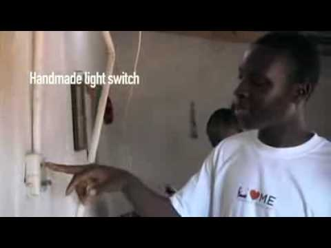 African Genius 14yr Old Self Taught Engineer Harnessed Electricity Via Windmill For His Village