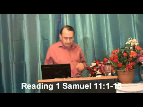 Study of the Kings of the Old Testament Lesson 1 King Saul