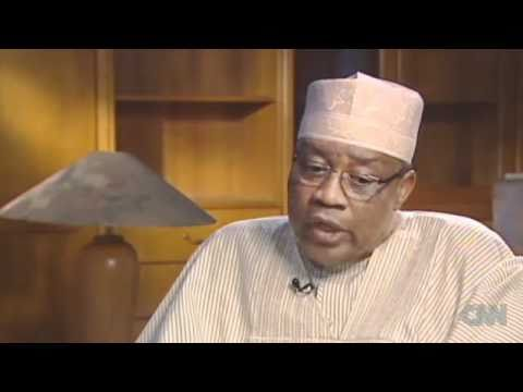 Ibrahim Badomasi Babangida Interview On CNN