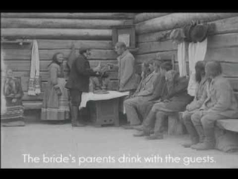 Carelian wedding (1921) - part 2