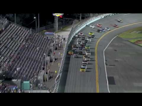 Dale Earnhardt Jr Wins in his Father's #3 at Daytona 2010