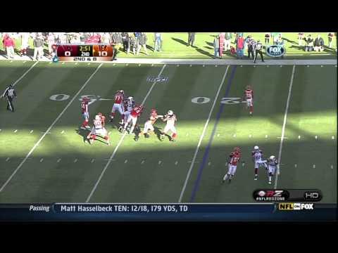Jerome Simpson (Bengals) Touchdown Endzone Flip