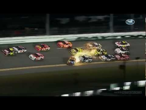 Kyle Busch Incredible Save 2012 Budweiser Shootout at Daytona