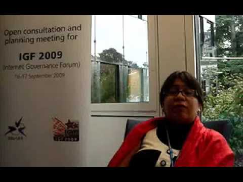 Katitza Rodriguez @ IGF Open Consultations 16-17 September 2009