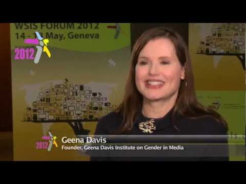 ITU INTERVIEWS: Geena Davis, ITU 'Special Envoy for Women and Girls in ICT'