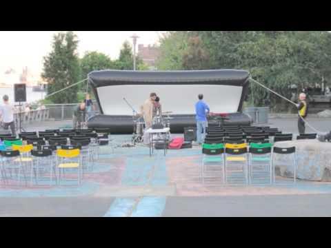 Solar-powered Film Festival The Garden