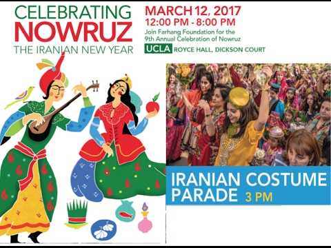 Farhang's 4th Annual Iranian Costume Parade at UCLA