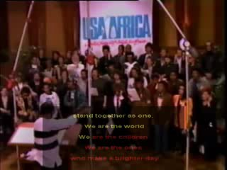 We are the world (USA for Africa) video clip 07:09 - 4 years ago ahha, we are the world
