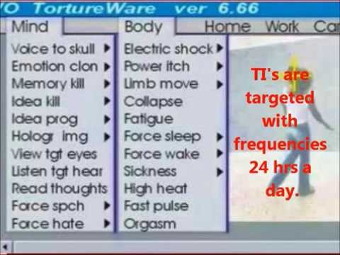 Watch gangstalkers Record Brain Frequencies for Torture with Electronic and Acoustic Weapons