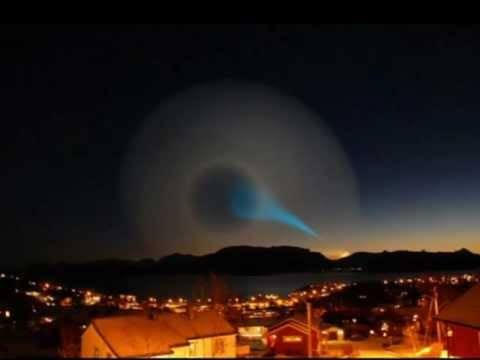 SKY SPIRAL  NORWAY SWEDEN HAARP 2011