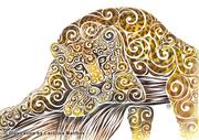 Swirly Leopard
