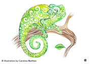 Swirly Chameleon
