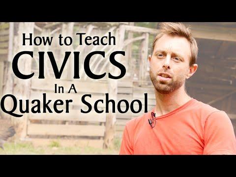 How to Teach Civics in a Quaker School