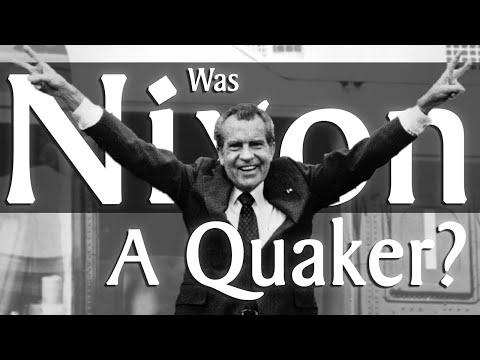 Was Richard Nixon a Quaker?