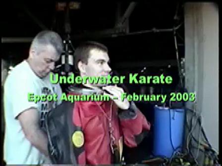 Underwater Karate